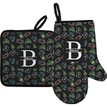 Video Game Oven Mitt & Pot Holder Set w/ Name and Initial