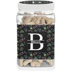 Video Game Dog Treat Jar (Personalized)
