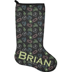 Video Game Holiday Stocking - Neoprene (Personalized)