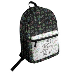 Video Game Student Backpack (Personalized)