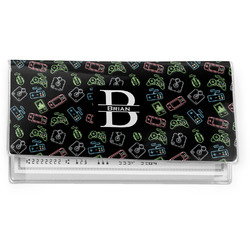 Video Game Vinyl Checkbook Cover (Personalized)