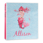 Mermaid 3-Ring Binder - 1 inch (Personalized)