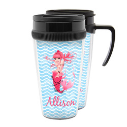 Mermaid Acrylic Travel Mugs (Personalized)
