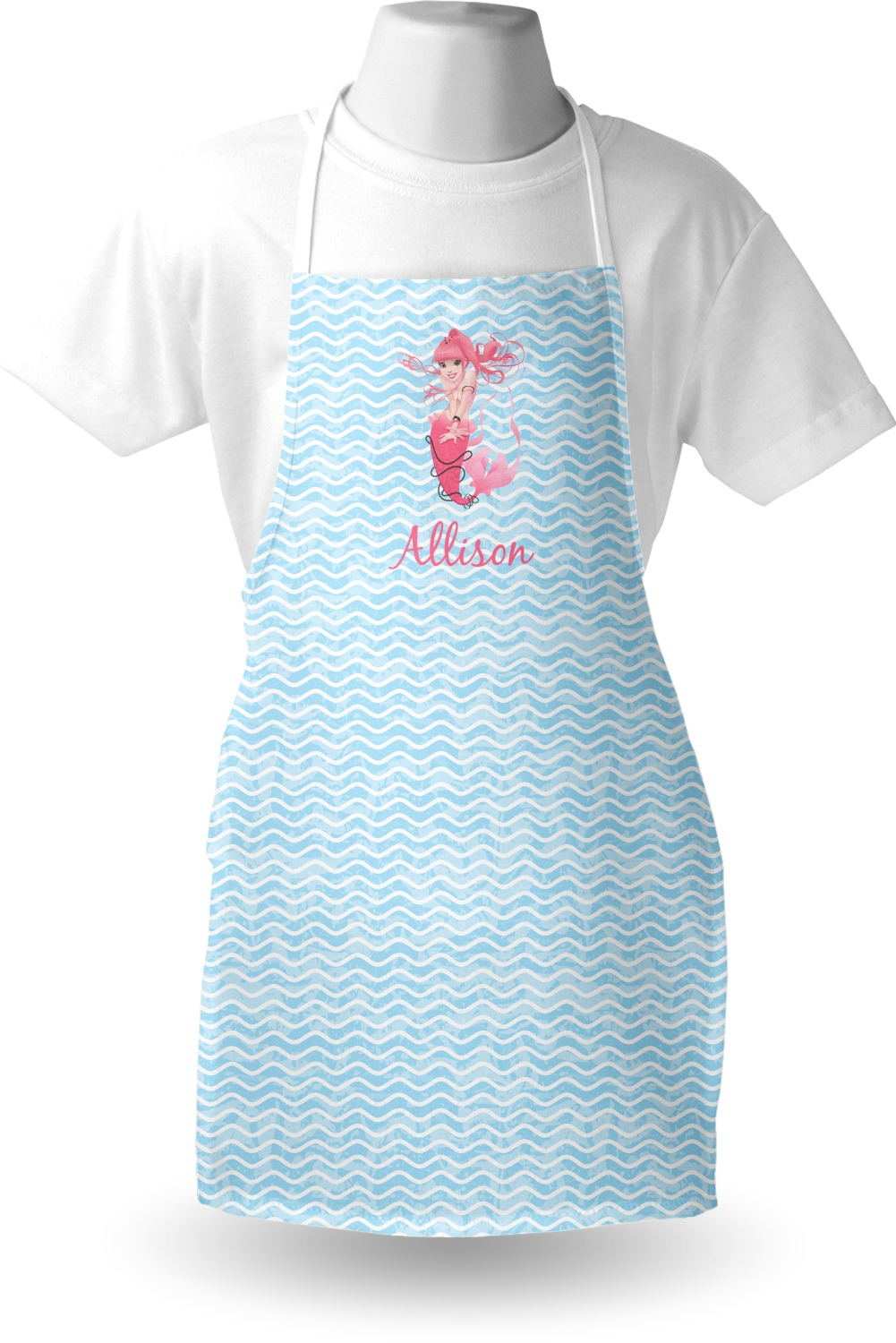 Mermaid Apron (Personalized) - YouCustomizeIt