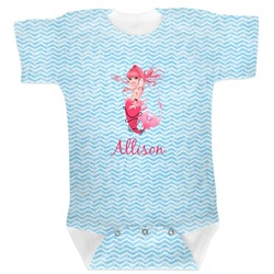 Mermaid Baby Bodysuit (Personalized)