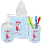 Mermaid Bathroom Accessories Set (Personalized)