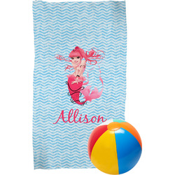 Mermaid Beach Towel (Personalized)