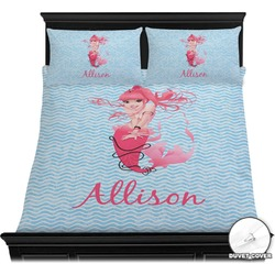 Mermaid Duvet Cover Set (Personalized)