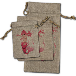 Mermaid Burlap Gift Bags (Personalized)