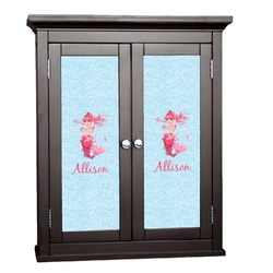 Mermaid Cabinet Decal - Custom Size (Personalized)