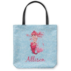 Mermaid Canvas Tote Bag (Personalized)