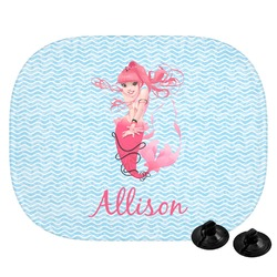 Mermaid Car Side Window Sun Shade (Personalized)