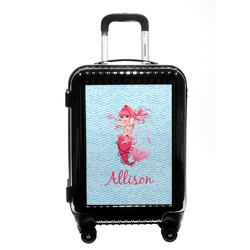 Mermaid Carry On Hard Shell Suitcase (Personalized)
