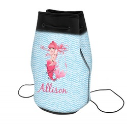 Mermaid Neoprene Drawstring Backpack (Personalized)