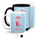 Mermaid Coffee Mugs (Personalized)