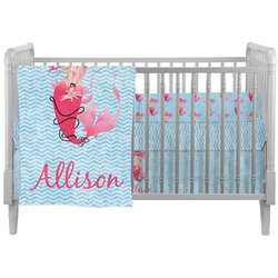Mermaid Crib Comforter / Quilt (Personalized)