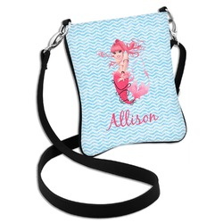 Mermaid Cross Body Bag - 2 Sizes (Personalized)