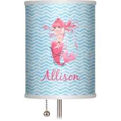 "Mermaid 7"" Drum Lamp Shade (Personalized)"