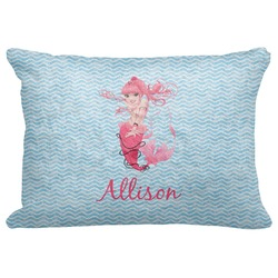 "Mermaid Decorative Baby Pillowcase - 16""x12"" (Personalized)"