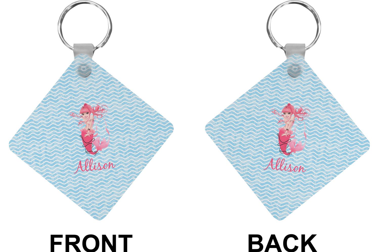 Mermaid Diamond Key Chain Personalized RNK Shops