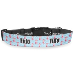 """Mermaid Deluxe Dog Collar - Extra Large (16"""" to 27"""") (Personalized)"""