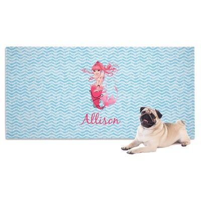Mermaid Dog Towel (Personalized)