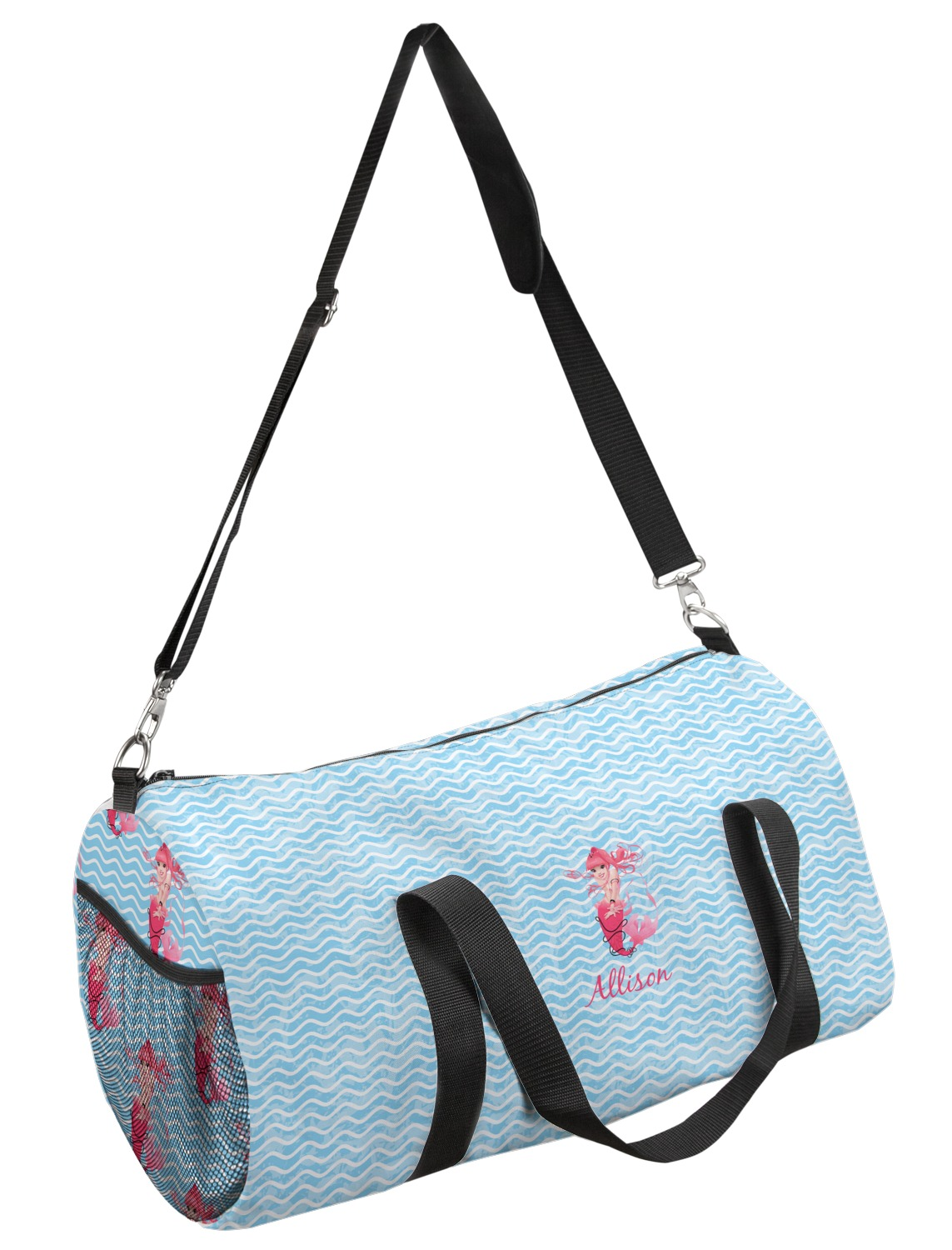 31e21515ee Mermaid Duffel Bag - Multiple Sizes (Personalized) - YouCustomizeIt