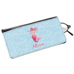 Mermaid Genuine Leather Eyeglass Case (Personalized)