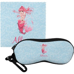 Mermaid Eyeglass Case & Cloth (Personalized)