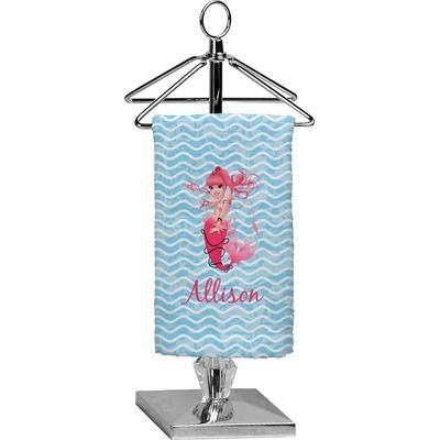Mermaid Finger Tip Towel - Full Print (Personalized)