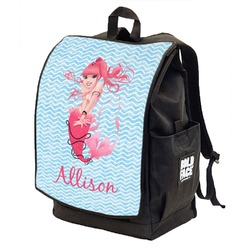 Mermaid Backpack w/ Front Flap  (Personalized)