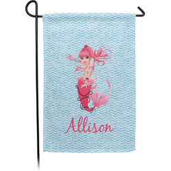Mermaid Garden Flag - Single or Double Sided (Personalized)