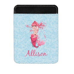 Mermaid Genuine Leather Money Clip (Personalized)