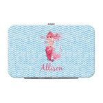Mermaid Genuine Leather Small Framed Wallet (Personalized)