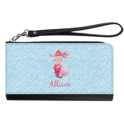 Mermaid Genuine Leather Smartphone Wrist Wallet (Personalized)