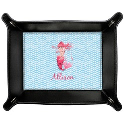 Mermaid Genuine Leather Valet Tray (Personalized)