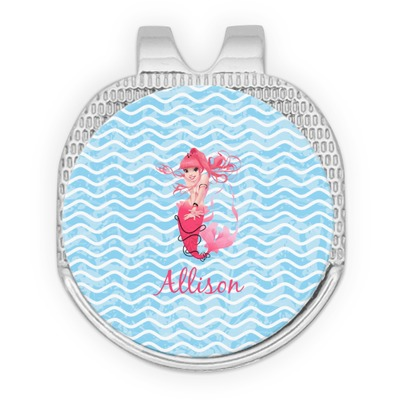 Mermaid Golf Ball Marker - Hat Clip