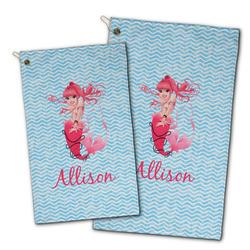 Mermaid Golf Towel - Full Print w/ Name or Text