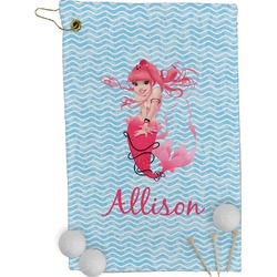 Mermaid Golf Towel - Full Print (Personalized)