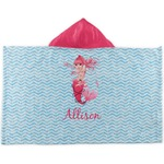 Mermaid Kids Hooded Towel (Personalized)