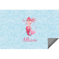 Mermaid Indoor / Outdoor Rug (Personalized)