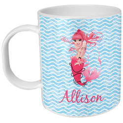 Mermaid Plastic Kids Mug (Personalized)