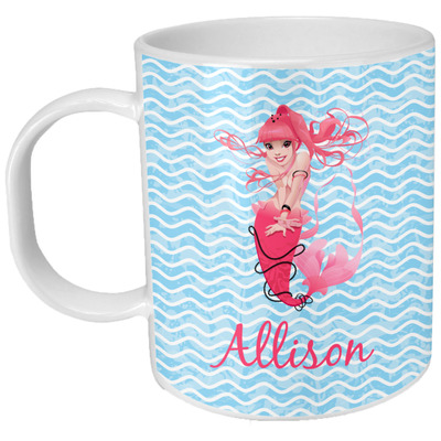 Mermaid Plastic Kids Mug (Personalized)