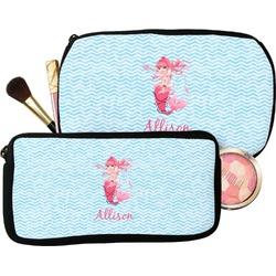 Mermaid Makeup / Cosmetic Bag (Personalized)