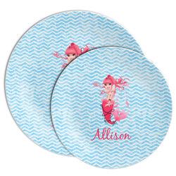 Mermaid Melamine Plate (Personalized)