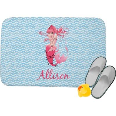 Mermaid Memory Foam Bath Mat (Personalized)