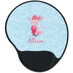 Mermaid Mouse Pad with Wrist Support