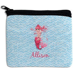 Mermaid Rectangular Coin Purse (Personalized)