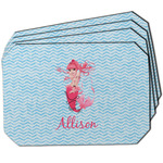 Mermaid Dining Table Mat - Octagon w/ Name or Text