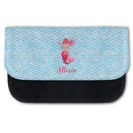 Mermaid Canvas Pencil Case w/ Name or Text